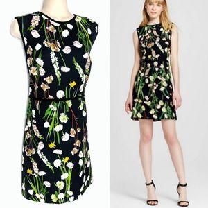 Victoria Beckham for Target Floral Shift Dress XL